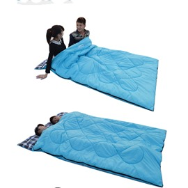 Portable Cotton Flannel Sleeping Bag for Adults