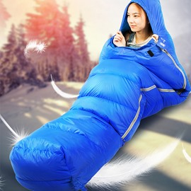 Envelope with Compression Sack Duck Down Sleeping Bag