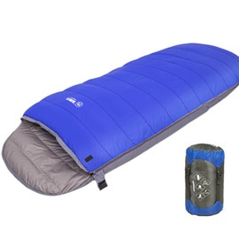 Envelope Type Lightweight and Waterproof Sleeping Bag for Warm & Cold Weather