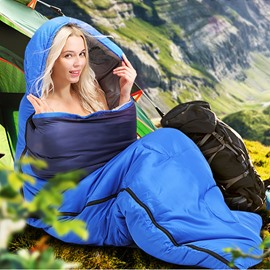 Envelope Type Lightweight Portable Sleeping Bag for Outdoor Adventure
