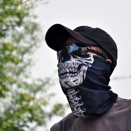 Versatile Skull Sports & Casual 100% Microfiber Head Wear