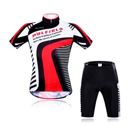 New Arrival Men's Breathable Grid Short Sleeve Jersey Cycling Clothing