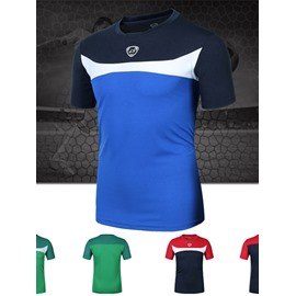 White Strip Short Sleeve Cycling Jersey Quick Drying Shirt