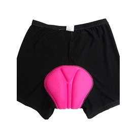 Women's Black Outdoor Shorts Padded Bike Underwear Tights