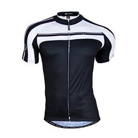 Male Streamline Breathable Full Zipper Road Bike Jersey Quick-Dry Cycling Jersey
