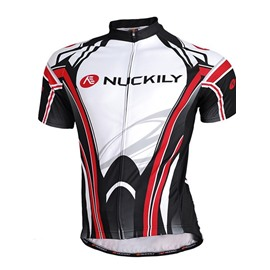 Male Breathable Mesh Fabric Quick-Dry Short Sleeve Cycling Jersey