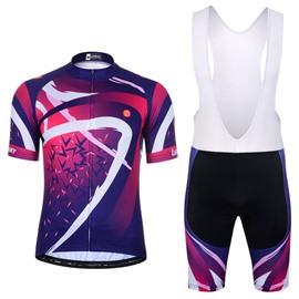 Men Shorts Padded Cycling Pants Bicycle Jersey Glitter