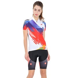 Cycling Jersey Shirt Quick Dry Breathable Mountain Clothing Bike