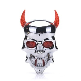 Devil Mask LED Conspicuous Portable Bicycle Light