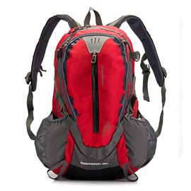32L Outdoor Camping Hiking Trekking High Capacity Bright Color Backpack