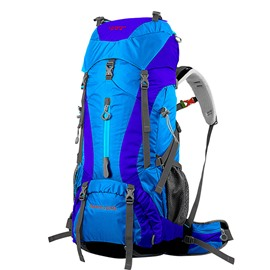 65L High Capacity Waterproof Resistant Camping Hiking Traveling Backpack