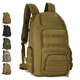 40L Capacity MOLLE System Waterproof Outdoor Backpack For Travel
