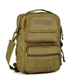 Many Pockets Leisurely Waterproof High Quality Outdoor Messenger Bag