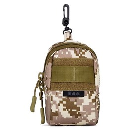 Scratch Resistant Hangable Nylon Outdoor Camo Mini Telephone Bag Backpack
