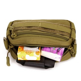 Camo Shoulder Bag Lightweight Nylon Fabric Messenger Bag
