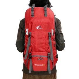 60L Extra High Capacity Camping Hiking Outdoor Backpack