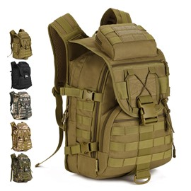 40L Waterproof High Capacity MOLLE Lightweight Mesh Outdoor Backpack