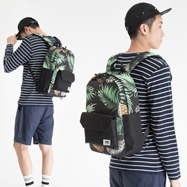 Fashion and Modern Polyester Hawaii Popular Pineapple Printing Men and Women Backpack