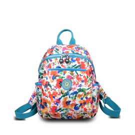 Travel Backpack Shoulder Oxford Nylon Waterproof Canvas Female Bag