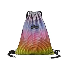 Drawstring Bag Fashion Simple Colorful Portable Backpack