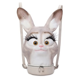 3D Animal Rabbit Funny Cute Backpack Laptop Shoulder Bag Day pack