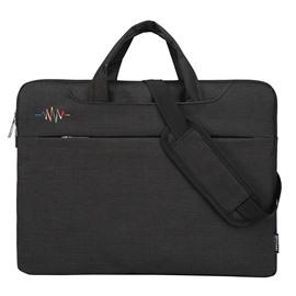 Square Design Solid Pattern Zipper Polyester Shoulder Bags
