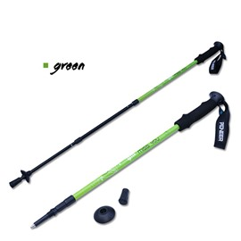 Trekking Hiking Adjustable Bright Color Aluminium Alloy Alpenstock