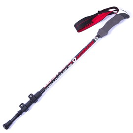 Lightweight Hiking Trekking Carbon Fiber Stick Pole with Stock Outdoor Alpenstock