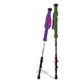 Outdoor Lightweight Straight Shank Hiking and Trekking Carbon Alpenstock