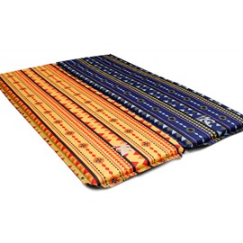 Light Single Double Outdoor Camping Sleeping Air Mattress Mat Pad Bed