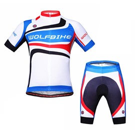 Female Outdoor Simple Style Breathable and Quick-Dry Cycling Short Sleeve Cloth