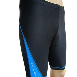 Men's Outdoor Half Pants Padded Cycling Compression Tights