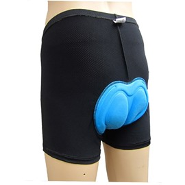 Men's Black Outdoor Shorts Padded Bike Underwear Tights