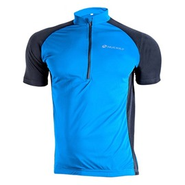 Male Quick-Dry Breathable Road Bike Jersey with Half Zipper Outdoor Cycling Jersey