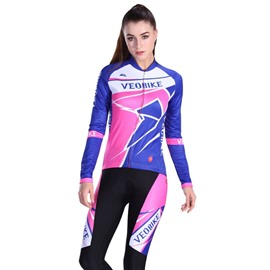 Girly Racing style Sports Cycling Clothing