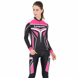 Pink 3D Padded Pants Road Bike Comfortable Women's Cycling Jersey