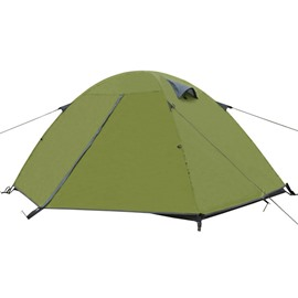 1-2 Person Outdoor Double Layers and Double Doors Waterproof Camping and Hiking Tent