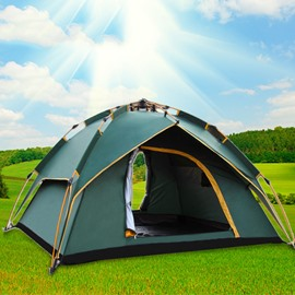 71 3-4 Person Quick-Set up Lightweight Waterproof Sturdy C&ing and Hiking Tent & wild country tents hoolie 3 - Beddinginn.com