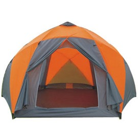 8-10 Person 2-Room Waterproof Extended Family Instant Setup Dome Camping Tent