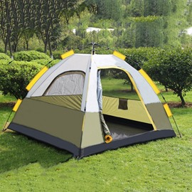 2 Person Double Layers Quick-Set up Spring Waterproof Camping and Hiking Outdoor Tent