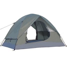 3-4 Person Double Layer and Double Door Waterproof Hiking and Camping Tent