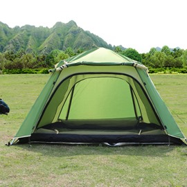 3-4 Person Outdoor One Bedroom with Single Layer Instant Camping and Hiking Tent