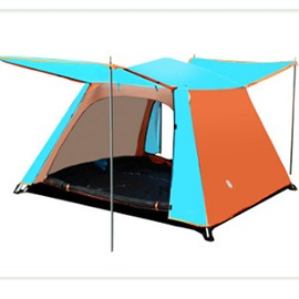 3-4 Person 1 room with Single Layer Quick-Set up for Four Season Camping and Hiking Tent