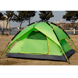 2 Person Screened Instant Set up with Rainfly Fiberglass Skeleton Camping Tent