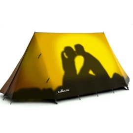3-Person Couple Kiss with Sunshine 3D Printed Pattern Outdoor Waterproof CampingTent