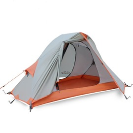 1 Person Waterproof Breathable Lightweight Easy to Set up Camping Hiking Tent