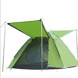 Camping Tent Shelter Waterproof 3-4 Person Automatic Pop Up Quick Outdoor Hiking