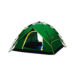 Camping 3-4 Persons Automatic Speed Open Throwing Pop Up Waterproof Tent