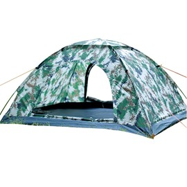 Camouflage Camping 2 Persons Single-layer Set up Open Tent