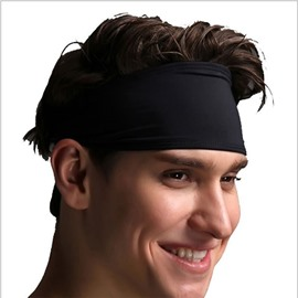 Moisture Elasticity Super Comfortable One Size Fits All Men& Women Headband
